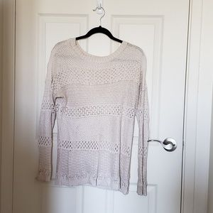 🌷SPRING COLLECTION: Light Crochet Knit Sweater